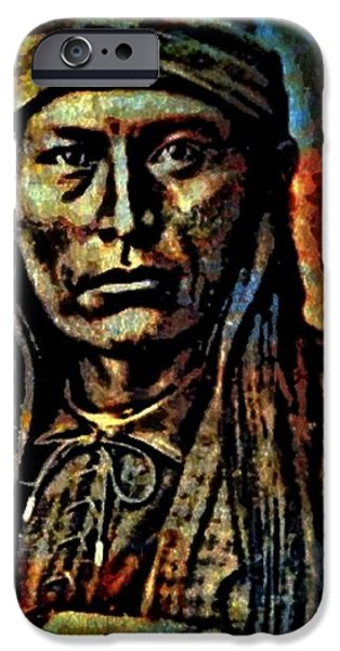 Chief Cochise iPhone Case by WBK