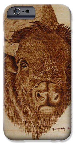 Chief iPhone Case by Jo Schwartz