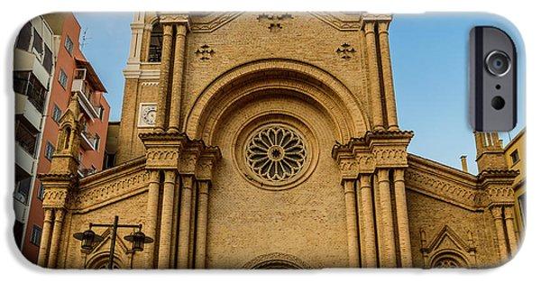July iPhone Cases - Chiesa di Sacro Cuore iPhone Case by Randy Scherkenbach