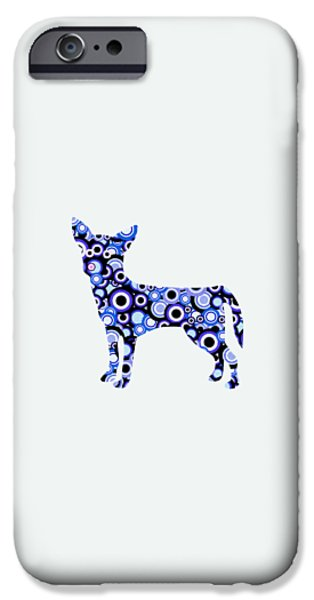 Child iPhone Cases - Chihuahua - Animal Art iPhone Case by Anastasiya Malakhova