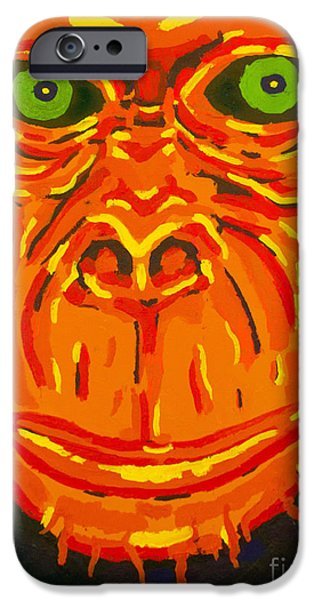 Recently Sold -  - Chip iPhone Cases - Chimped iPhone Case by Tank Berrett