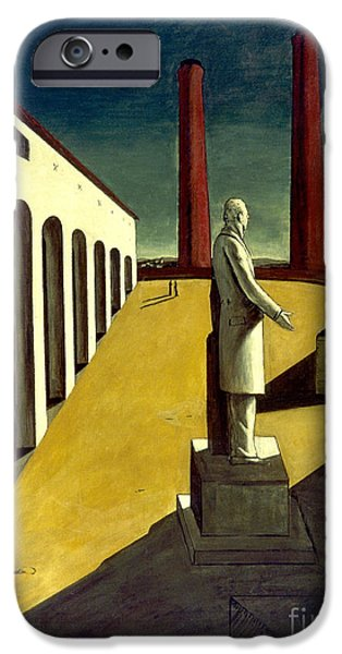 1914 iPhone Cases - Chirico: Enigma, 1914 iPhone Case by Granger