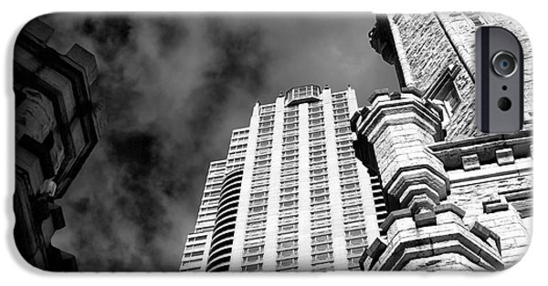 Sears Tower iPhone Cases - ChiTown Architecture iPhone Case by John Rizzuto