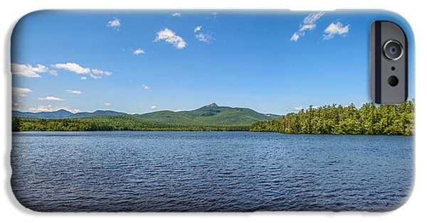 Abstract Digital iPhone Cases - Chocorua Lake iPhone Case by Cke Photo