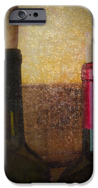 Wine Bottles iPhone Cases - Choices iPhone Case by DeWayne Beard