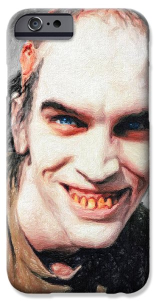 Kill Bill iPhone Cases - Chop Top Sawyer iPhone Case by Taylan Soyturk