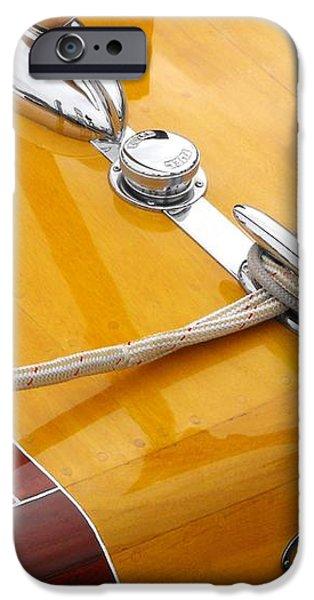 Chris Craft Custom iPhone Case by Neil Zimmerman