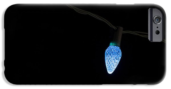 Night Lamp iPhone Cases - Christmas light iPhone Case by Steven Ralser