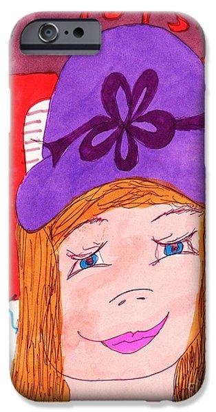 Toy Store iPhone Cases - Christmas Toy Shopping iPhone Case by Elinor Rakowski