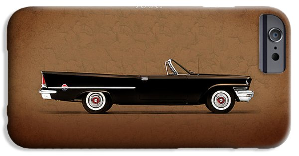 Chrysler iPhone Cases - Chrysler 300C 1957 iPhone Case by Mark Rogan