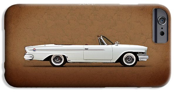 Chrysler iPhone Cases - Chrysler 300D 1962 iPhone Case by Mark Rogan