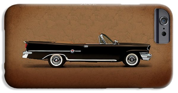 Chrysler iPhone Cases - Chrysler 300E 1959 iPhone Case by Mark Rogan