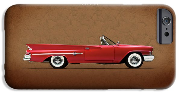 Chrysler iPhone Cases - Chrysler 300G 1961 iPhone Case by Mark Rogan