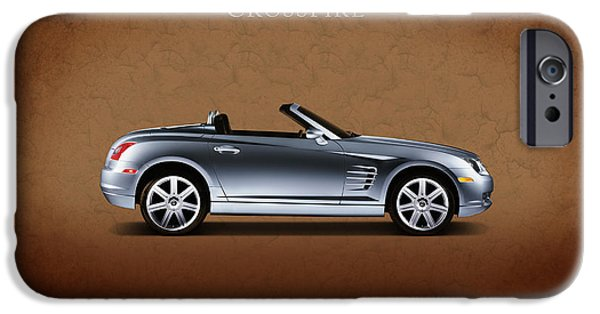 Chrysler iPhone Cases - Chrysler Crossfire iPhone Case by Mark Rogan