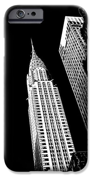 United iPhone Cases - Chrysler Nights iPhone Case by Az Jackson