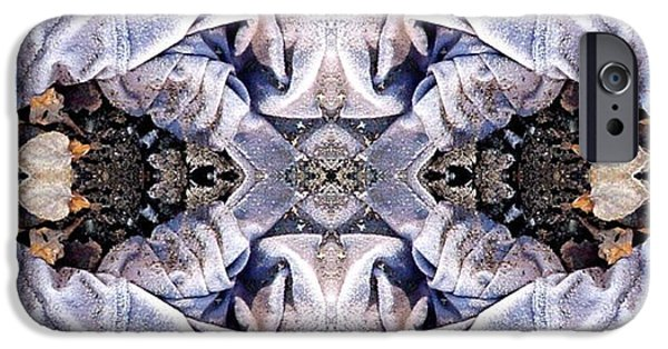 Abstract Digital Digital iPhone Cases - Church Clothing iPhone Case by Ron Bissett