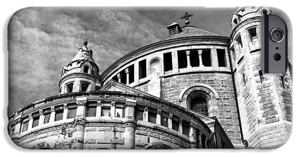 Sleeping Places iPhone Cases - Church of Dormition iPhone Case by John Rizzuto