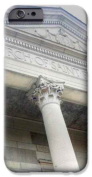 Church of St Francis Xavier iPhone Case by David Bearden