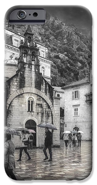 Buildings iPhone Cases - Church of St. Luke iPhone Case by Maria Coulson