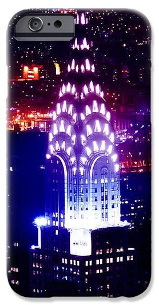United iPhone Cases - Chyrsler Lights iPhone Case by Az Jackson