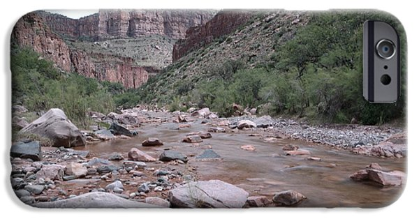 Ledge iPhone Cases - Cibola Creek iPhone Case by Jeff  Swan