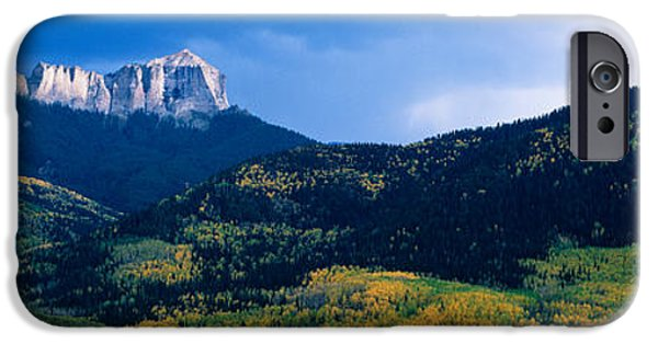 Mountain iPhone Cases - Cimarron Mountain Range In Uncompahgre iPhone Case by Panoramic Images