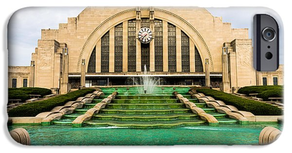 Museum iPhone Cases - Cincinnati Museum Center Picture iPhone Case by Paul Velgos