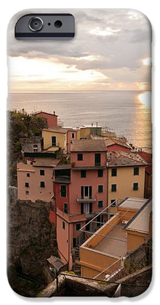 Cinque Terre Tranquility iPhone Case by Mike Reid