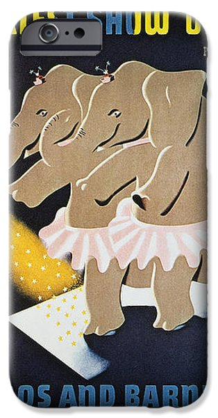 CIRCUS POSTER, 1942 iPhone Case by Granger