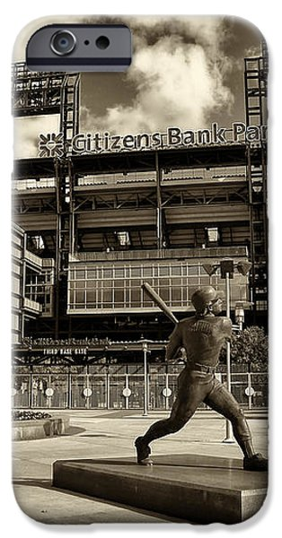 Citizens Park 1 iPhone Case by JACK PAOLINI