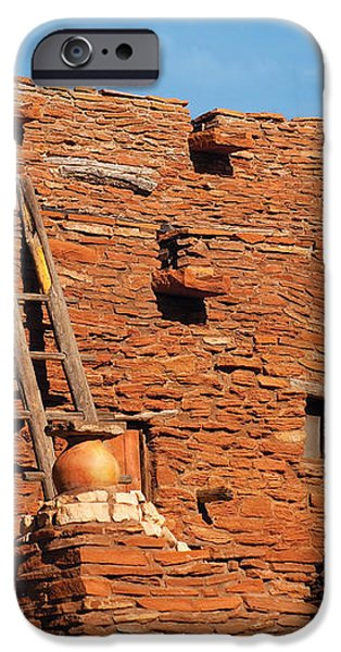 City - Arizona - Pueblo iPhone Case by Mike Savad
