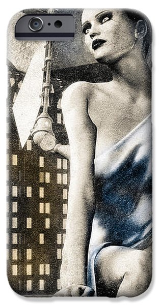 City Angel -2 iPhone Case by Bob Orsillo