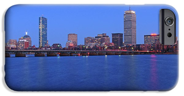 Charles River iPhone Cases - City Dreams iPhone Case by Juergen Roth