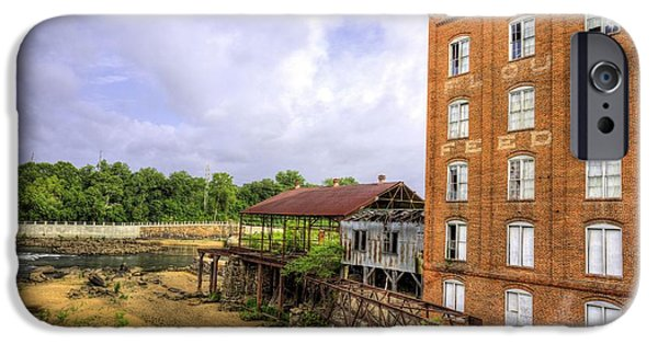 Grist Mill iPhone Cases - City Mills iPhone Case by JC Findley