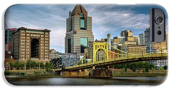 Clemente iPhone Cases - City of Bridges iPhone Case by Rick Berk
