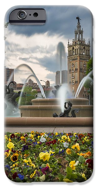 Recently Sold -  - Storm iPhone Cases - City of Fountains iPhone Case by Ryan Heffron