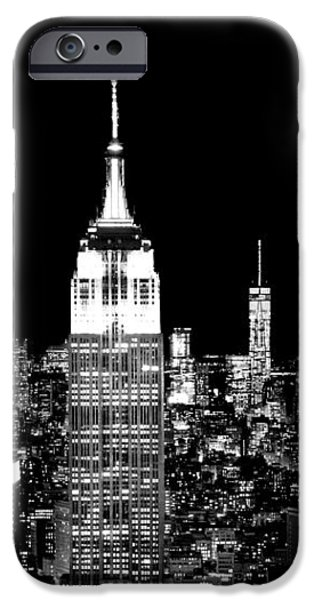 United iPhone Cases - City Of The Night iPhone Case by Az Jackson