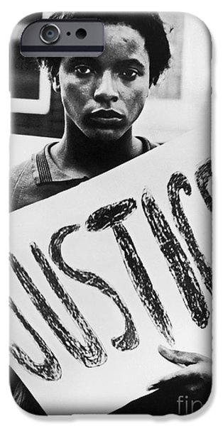 Protesters iPhone Cases - Civil Rights, 1961 iPhone Case by Granger