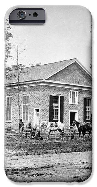 CIVIL WAR: BETHEL CHURCH iPhone Case by Granger