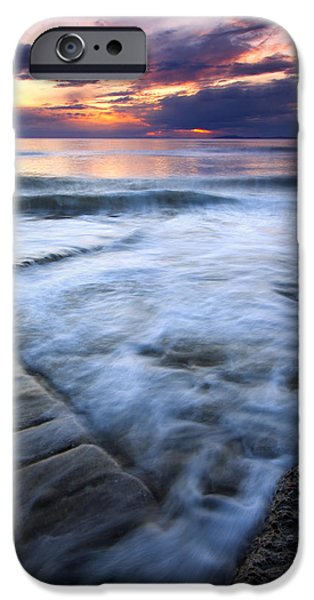 Tides iPhone Cases - Civilization Forgotten iPhone Case by Mike  Dawson