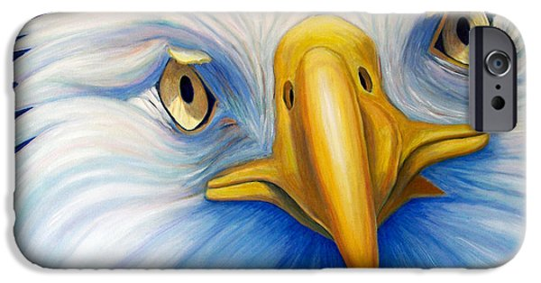 Eagle iPhone Cases - Clarity iPhone Case by Brian  Commerford