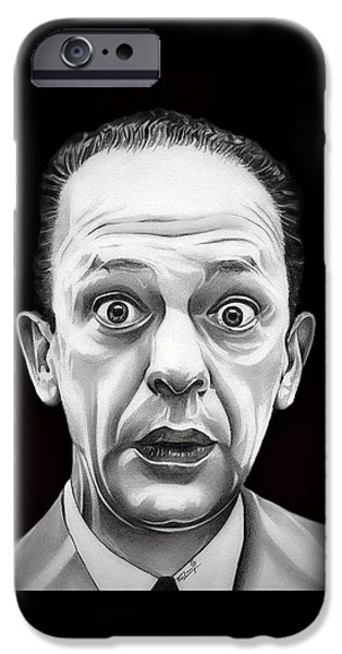 Andy Griffith Show iPhone Cases - Classic Barney Fife iPhone Case by Fred Larucci