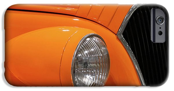 Renewing iPhone Cases - Classic Car Details iPhone Case by Oleksiy Maksymenko