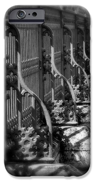 Classic Fence iPhone Case by Perry Webster