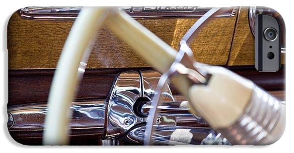 Board iPhone Cases - Classic Hudson Car Dash  iPhone Case by Eden Manus
