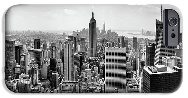 Empire State Building iPhone Cases - Classic New York  iPhone Case by Az Jackson