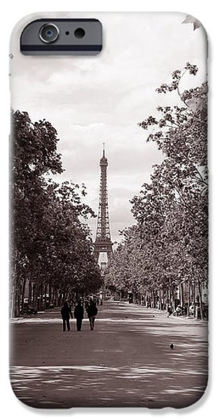 Classic Paris 10 iPhone Case by Andrew Fare