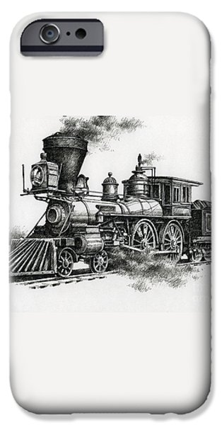 Classic Steam iPhone Case by James Williamson
