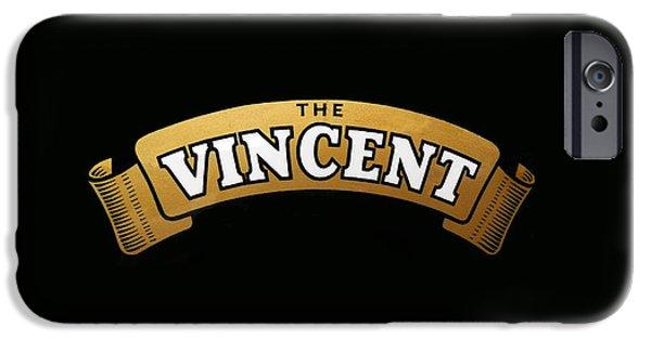 Vincent iPhone Cases - Classic Vincent Phone Case iPhone Case by Mark Rogan
