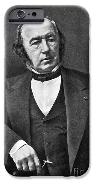 Objectivity iPhone Cases - Claude Bernard, French Physiologist iPhone Case by Photo Researchers